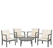 Safavieh Colfax 5-Piece Outdoor Coffee Set - H286250