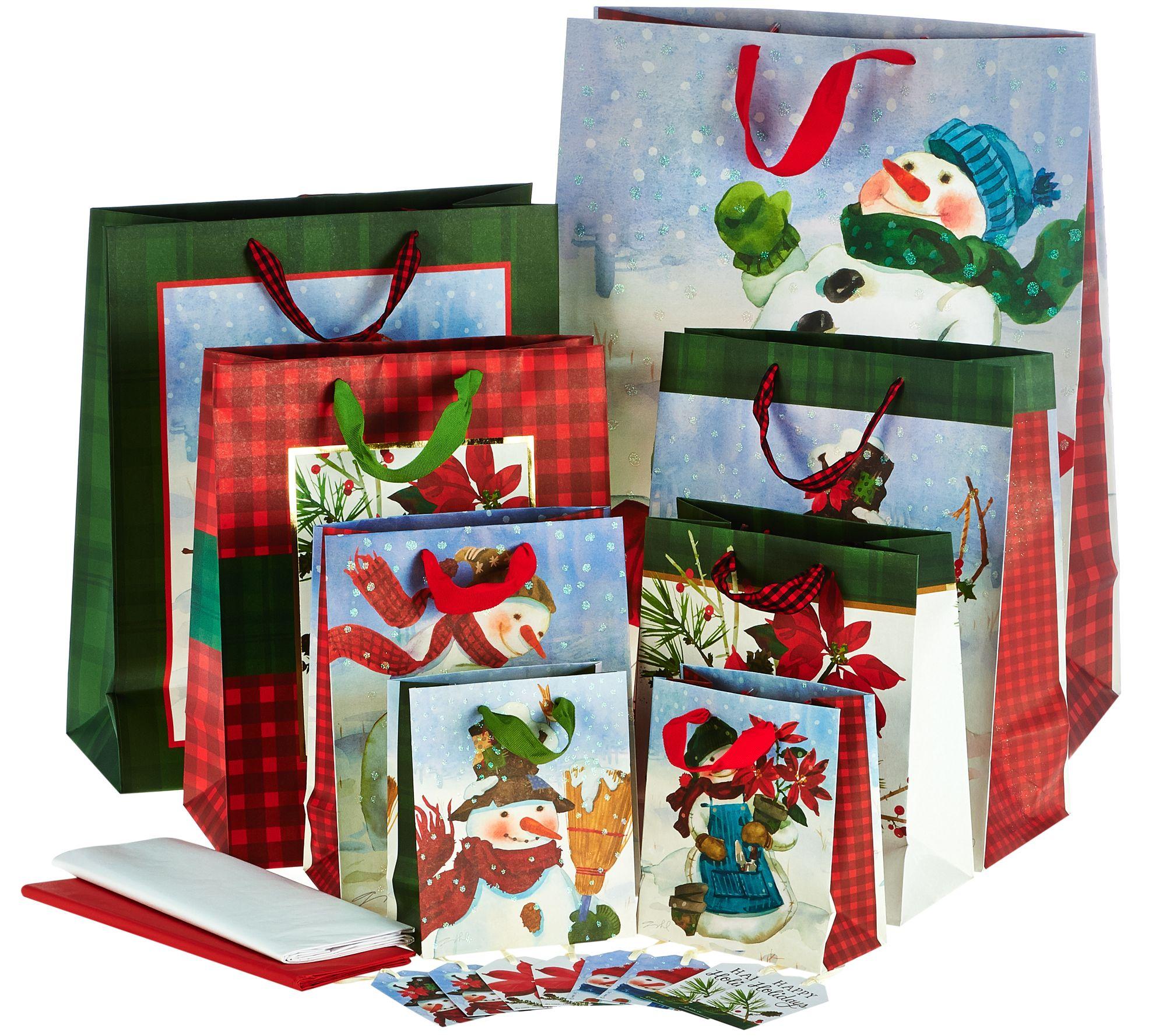 Hallmark 36 Piece Gift Wrap Set With Storage Box Page 1 Qvc