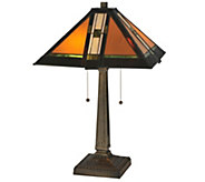 Meyda Tiffany-Style 22H Montana Mission TableLamp - H288151
