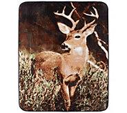 Shavel Hi Pile 60 x 80 Deer Country Luxury Throw - H301351