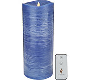 Luminara 14 Rustic Flameless Candle with Remote - H212652