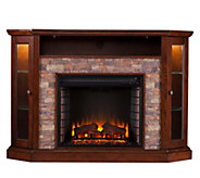 Redden Corner Convertible Electric Media Fireplace - H291052