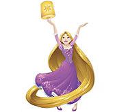 RoomMates Disney Sparkling Rapunzel Peel & Stick Wall Decals - H291552