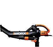 Worx Electric TriVac Blower, Mulcher, & Vacuum12Amp - H294352