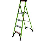 Little Giant MightyLite Series Model 6 Fiberglass Step Ladder - H295052