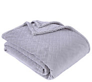 Berkshire Blanket Embossed Basket Weave King Bed Blanket - H295552