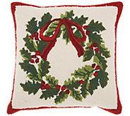 Mina Victory Wreath Multicolor 18 x 18 ThrowPillow - H301652
