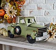 Harvest Vintage Metal Truck by Valerie - H216553