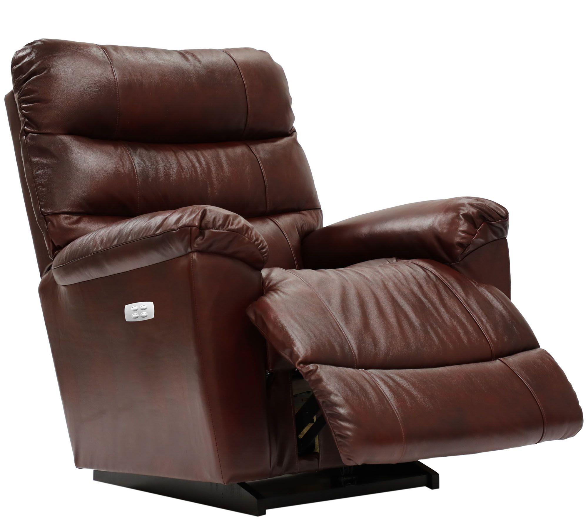 Sensational La Z Boy Marco Leather Power Xr Recliner Qvc Com Short Links Chair Design For Home Short Linksinfo