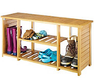 Whitmor Bamboo Shoe Bench - H280753