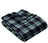 Berkshire Blanket Velvet Soft Plush Plaid ThrowBlanket - H302853
