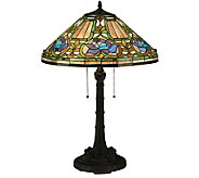 Tiffany Style 26-1/2H Floral Table Lamp - H350953