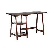 Braxton Espresso Desk - H169754