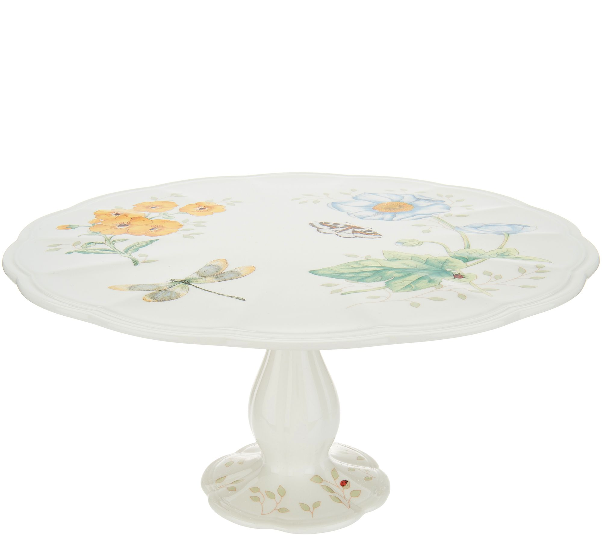 lid pedestal pin let eat stand cake them cloche plate with