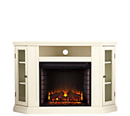 Claremont Convertible Media Fireplace - Ivory - H291054