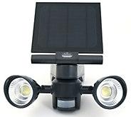 Pacific Accents Solar 2 x 5 COB Flood Light - H298054