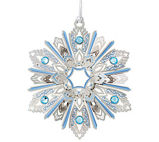 Jeweled Snowflake Ornament by Beacon Design