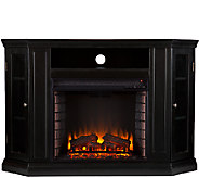 Adrian Convertible Media Electric Fireplace - Black - H354654