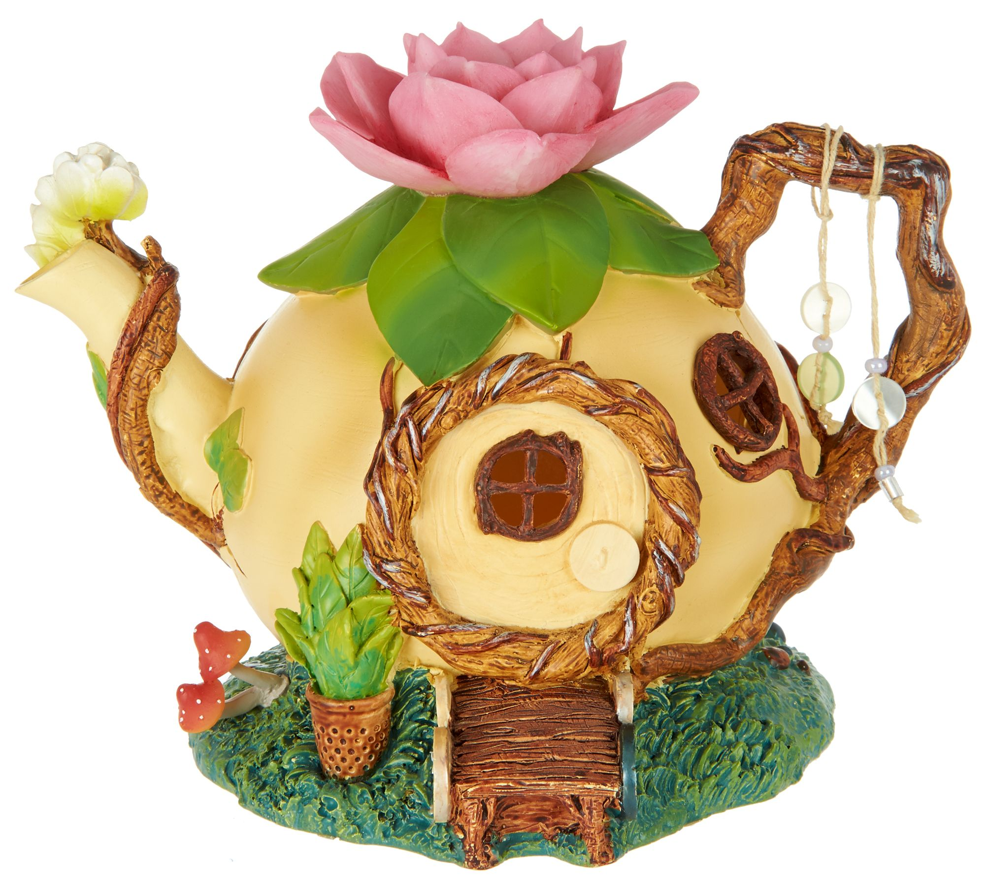 Hallmark Indoor/Outdoor Fairy Garden House   Page 1 U2014 QVC.com
