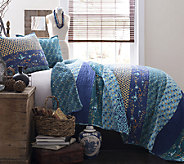 Royal Empire 3-PC Peacock Full/Queen Quilt Setby Lush Decor - H287255