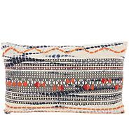 Studio NYC Festive Tie-Dye Indigo 12 x 20 Throw Pillow - H302455