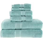 Wamsutta 6- Piece 100PimaCott Towel Set - H214656