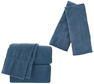 Malden Mills Polarfleece King Sheet Set W/ Extra Cases - H216656