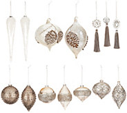 Inspire Me! Home Decor 14-pc Winter Wonderland Ornament Set - H217056