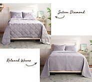 Scott Living Choice of Sateen or Relaxed Twin Coverlet Set - H217256