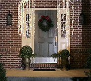 As Is Kringle Express Indoor/ Outdoor 3 9 Lit Lightfall w /480 LED Lights - H215057