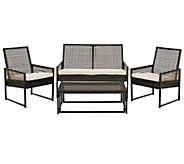 Safavieh Shawmont 4-Piece Outdoor Patio Set - H283257