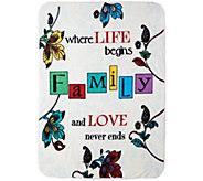 Shavel Hi Pile 60 x 80 Family Luxury Throw - H301357