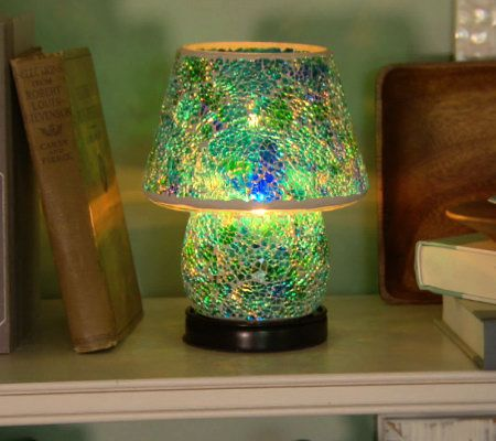 of qvc bb warm lamps lighthouse style table tiffany camewatchus lamp