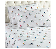Shavel Micro Flannel Printed King Sheet Set - H290458