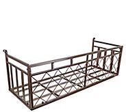 Design Toscano European-Style Metal Window Box - H291658