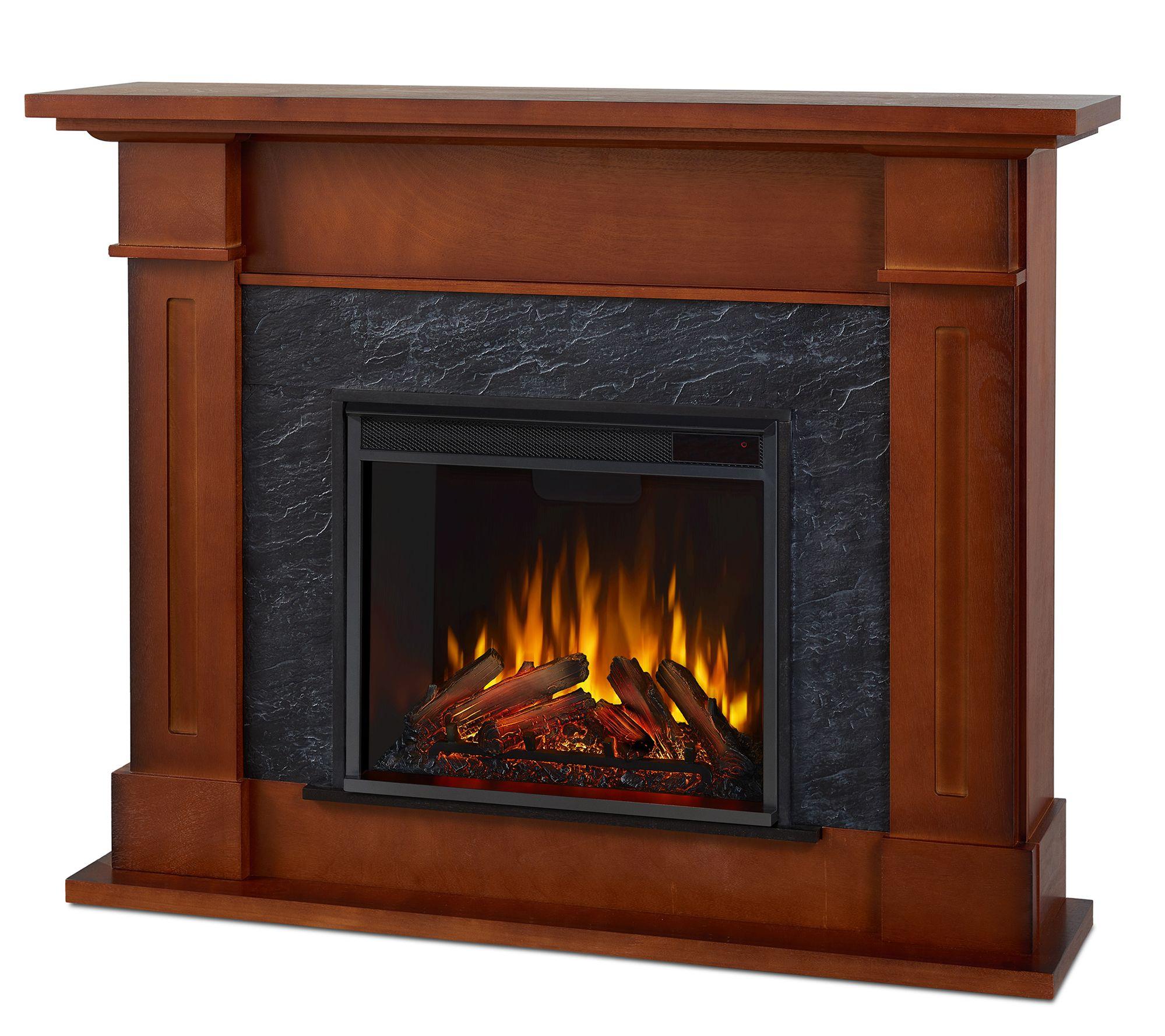 Real Flame Kipling Electric Fireplace Qvc Com