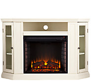 Adrian Convertible Media Electric Fireplace - Ivory - H354658