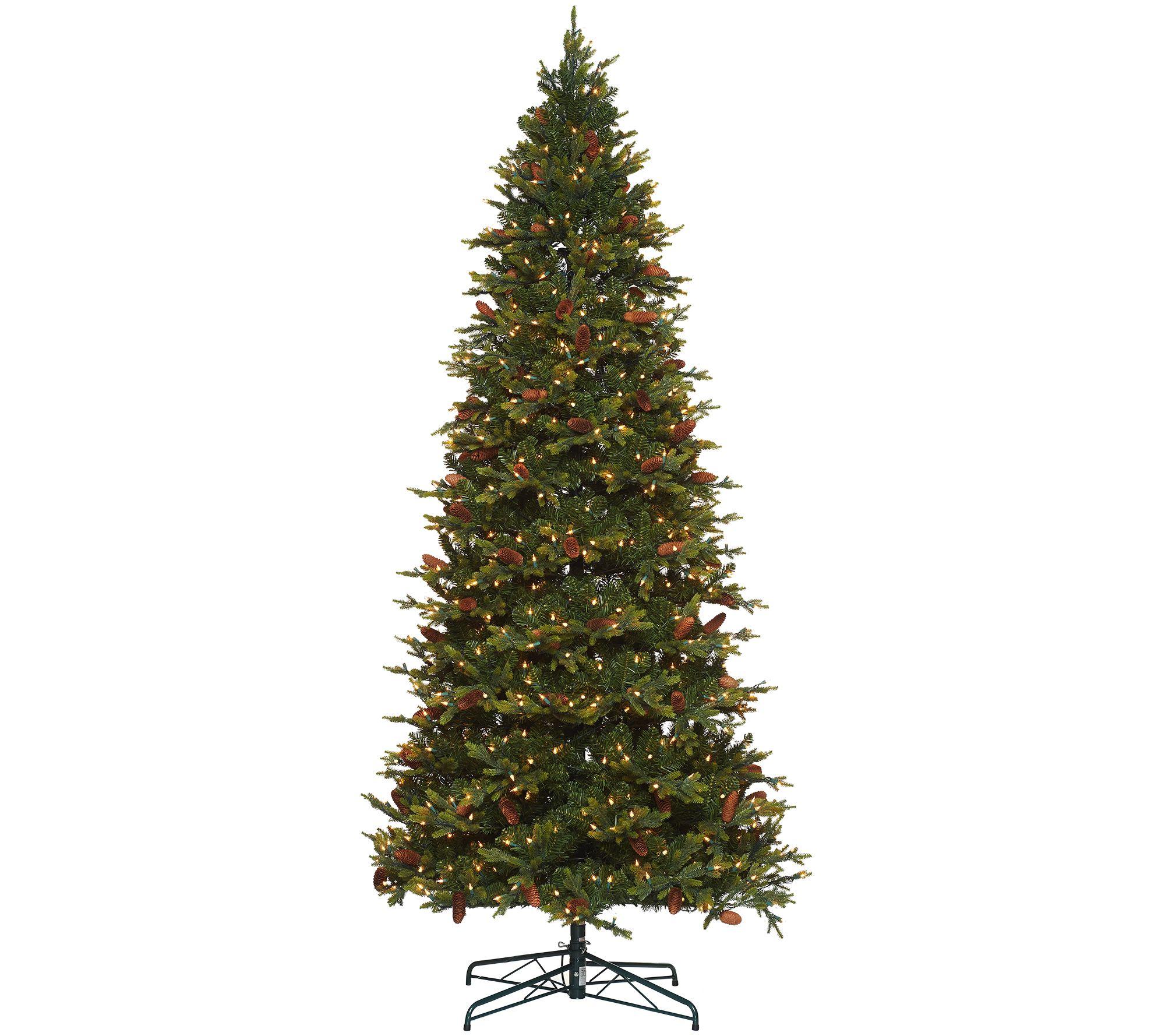 Bethlehem Lights 9\' Heritage Spruce Christmas Tree w/Instant Power ...