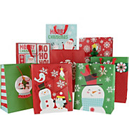 Hallmark 32pc 3D Holiday Gift Bag Bundle - H215859