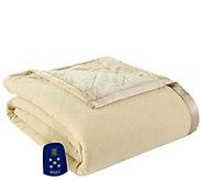 Shavel Micro Flannel to Ultra Velvet Full Electric Blanket - H301959