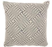 Studio NYC Basketweave 20 x 20 Throw Pillow - H302459