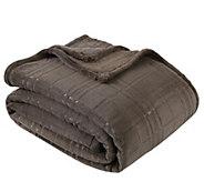 Berkshire Blanket Lodge Plaid Embossed Twin BedBlanket - H302859