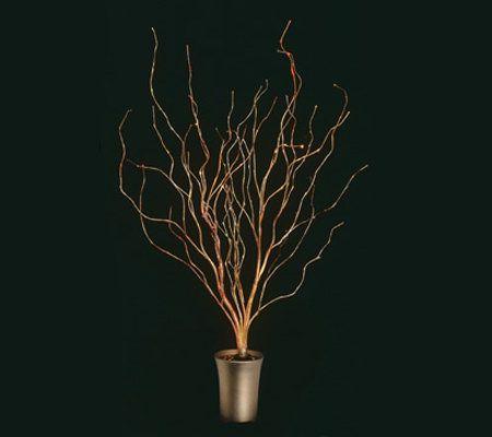 As Isbethlehe M Lights 43 De Corative Fiber Optic Twig Tree Qvc