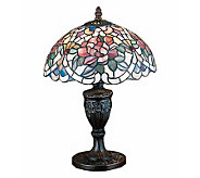 Meyda Tiffany Style Renaissance Rose Accent Lamp - H112360