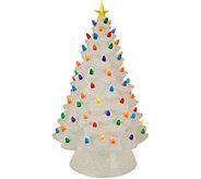 Mr. Christmas 17 Oversized Illuminated Plug In Nostalgic Tree - H211560