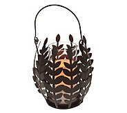 Home Reflections Flameless Wisteria Leaf Basket - H356760