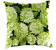 Hydrangea Outdoor Throw Pillow by Plow & Hearth - H372460