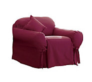 Sure Fit Cotton Duck Chair Slipcover - H138961