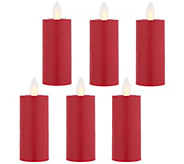 Candle Impressions Set of 6 Mirage Votives - H213761