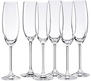 Lenox Tuscany Classics Set of Six Party Flutes - H293461